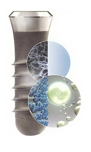 Sla поверхность имплантата
